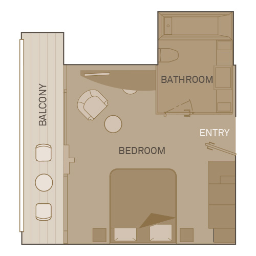 Junior Balcony Suite