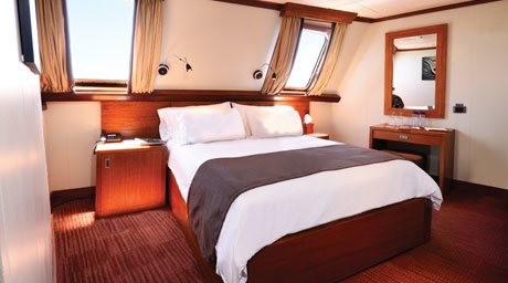 Elite Oceanview Stateroom
