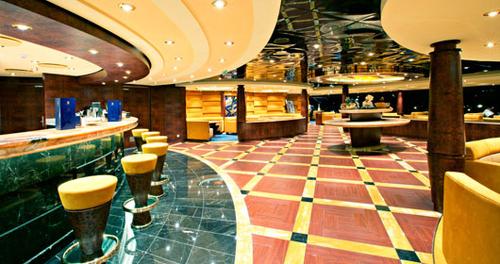 The MSC Yacht Club Bar