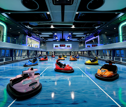 Sea Plex Bumper Cars