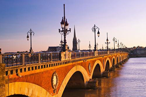 Pont de Pierre Bridge - Garonne River