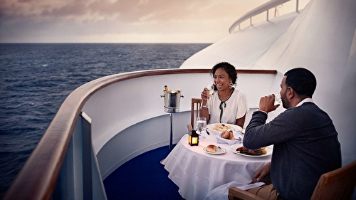 Ultimate Balcony Dining
