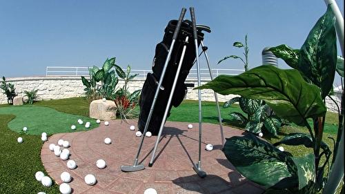 Golf Practice Cage