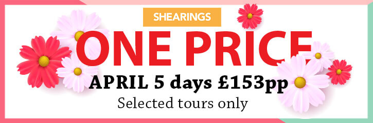 Shearings Coach Holidays April One Price