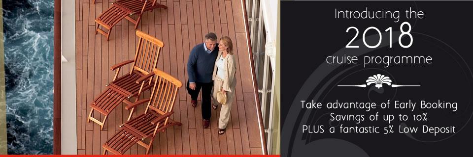 Cunard - 2018 On Sale Now
