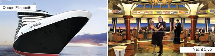 Cunard Cruises - Queen Elizabeth
