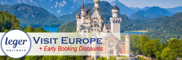 Leger Holidays - Early Booking Discounts!
