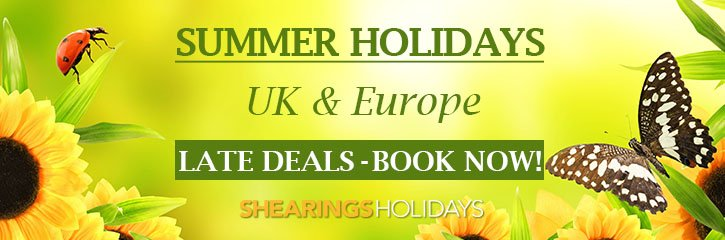 Shearings Holidays - Special Offers UK and Europe