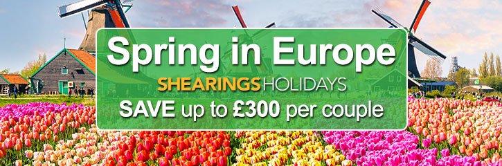 Shearings Holidays - Spring Tours to Europe