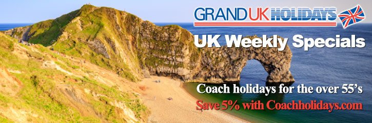 Grand UK Holidays - Special Offers and Late Deals