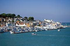 Yacht harbour in Cowes