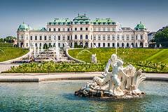 Belvedere Palace Museum, Vienna, Austria