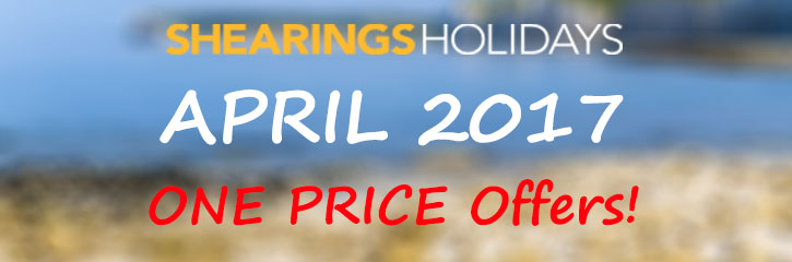 Shearings Holidays - April offers in the UK