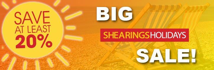Shearings Holidays - Big Summer Sale