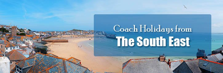 Great value Shearings coach holidays from the South East