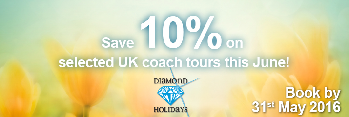 Diamond Holiday 10% Sale - ends 31st May 2016
