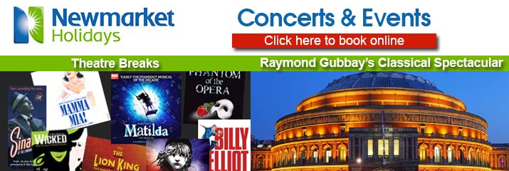 Newmarket Holidays - Concerts & Events