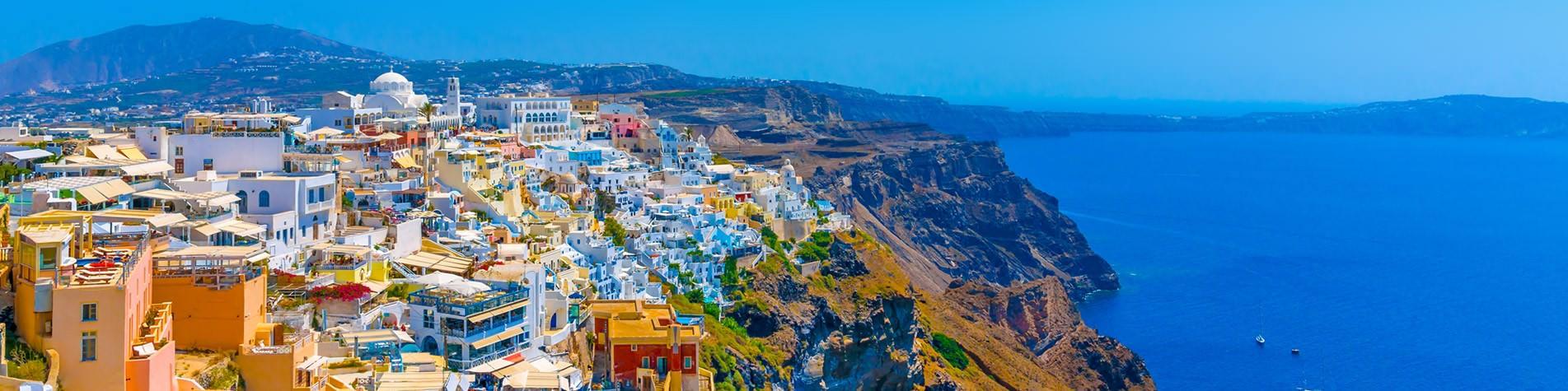 Santorini Island Holidays Specialists