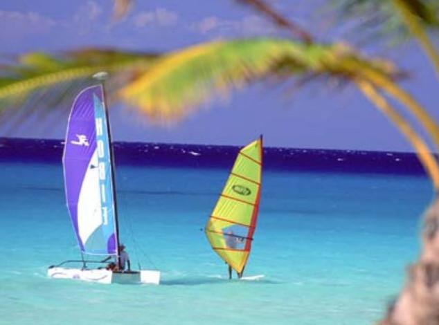 Boats at Playa del Carmen