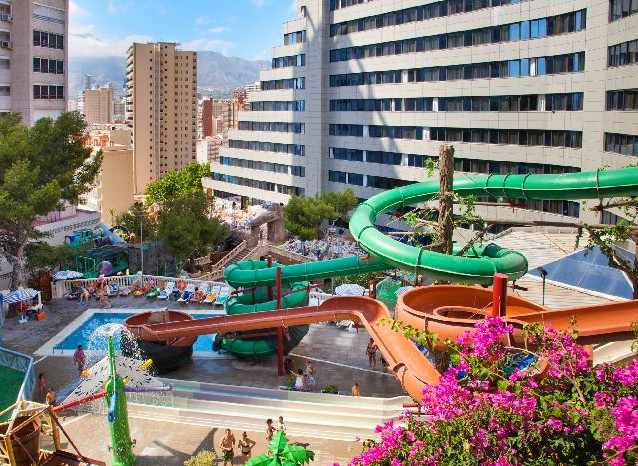 Hotel with Water Slides
