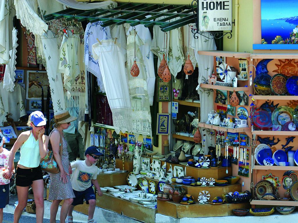 Agios Nikolaos market