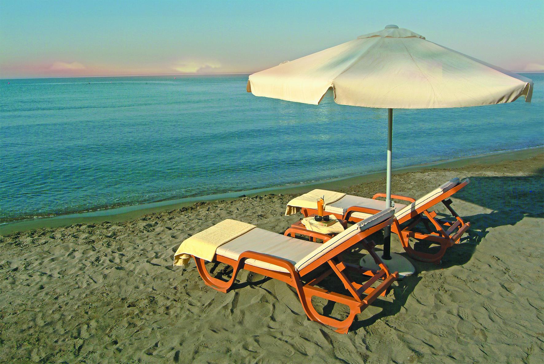 Relax on Limassol beach