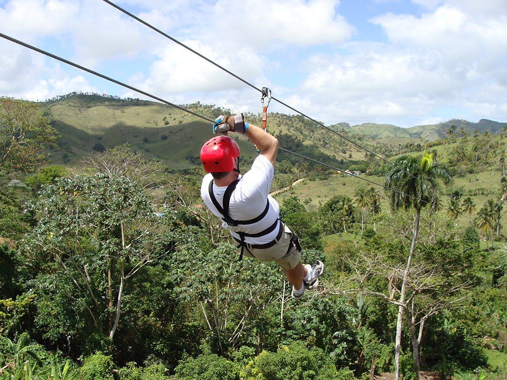 Rainforest canopy adventure