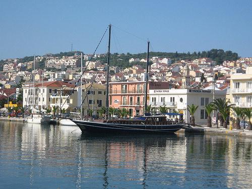 Argostoli harbour