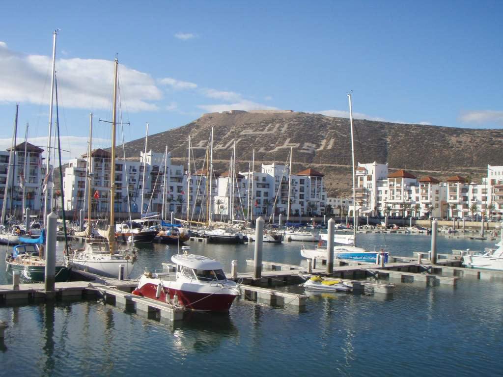 Agadir harbour