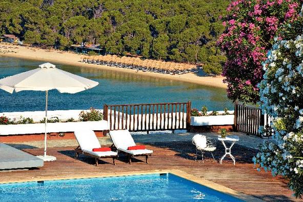 Skiathos Palace hotel view