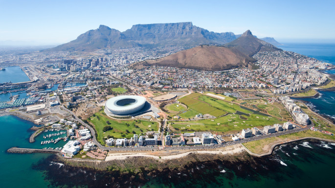 Africa cruises; Table Mountain