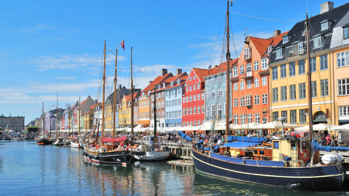 European cruises; quaint fishing village