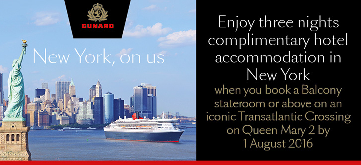 Cunard New York On Us