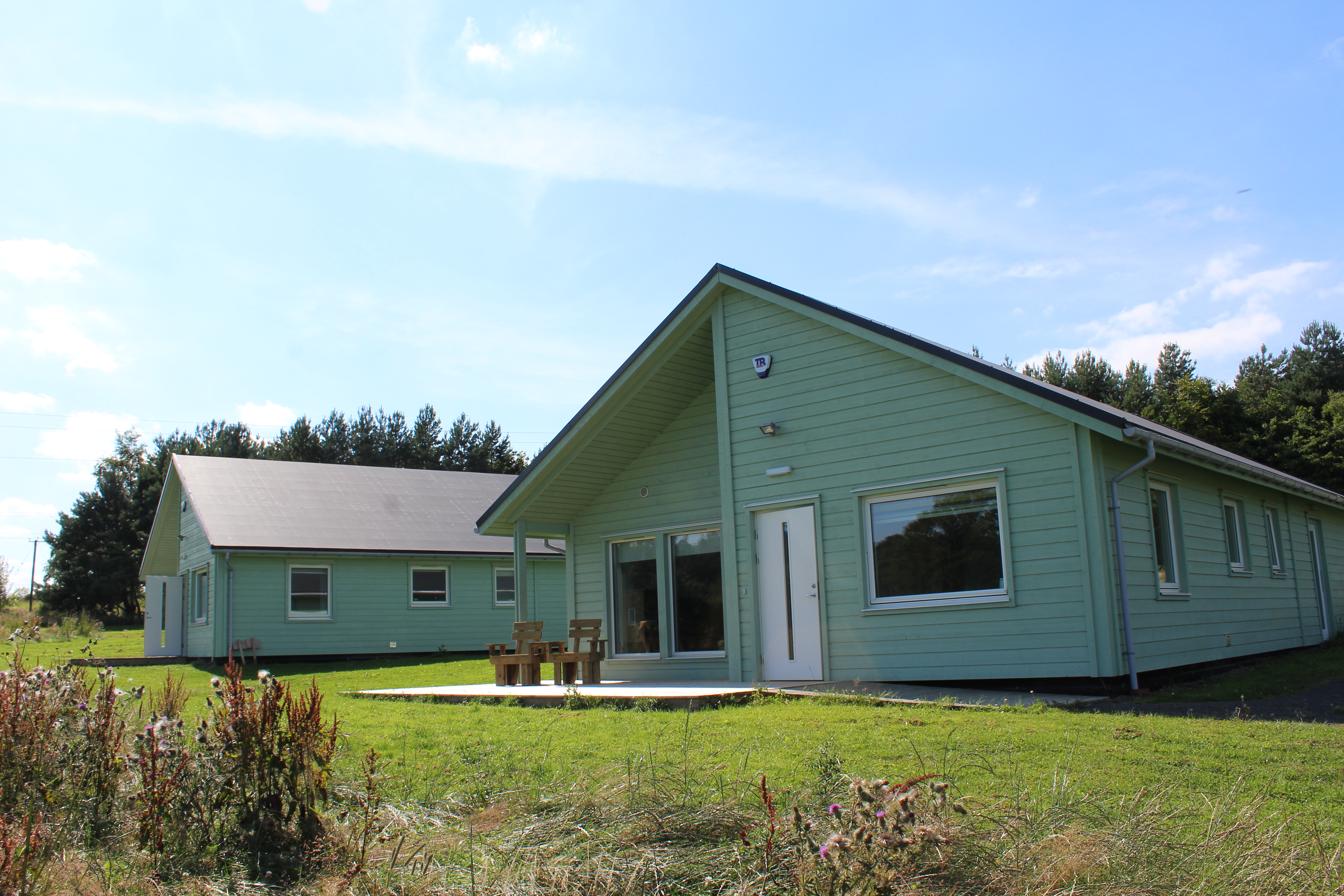 North East Autism Society Receive Grant for Therapeutic Lodges