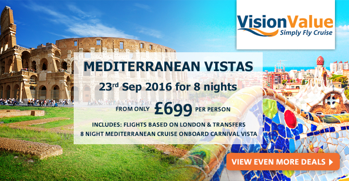 Cruise & Stay from Vision Cruise