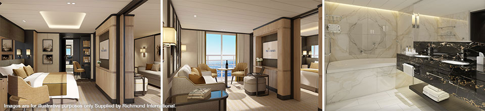 P&O Cruises Iona - Aft Suite