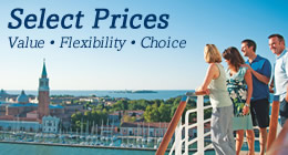 P&O Cruises Select Prices