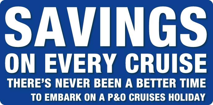 P&O Cruises Late Deals