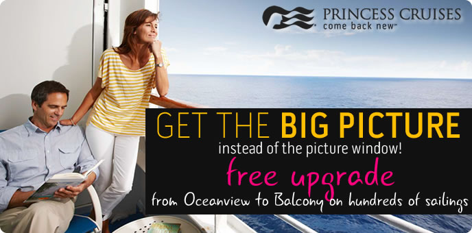 Princess Cruises - Balcony Sale
