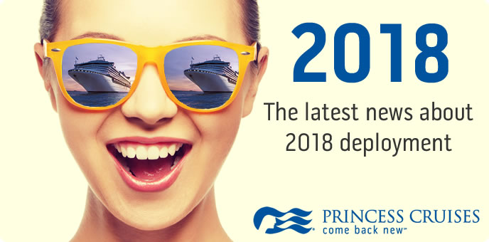 Princess Cruises in 2018