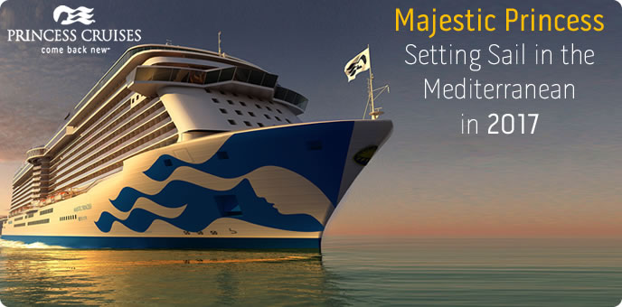 Majestic Princess - New Princess Cruises Ship in 2017