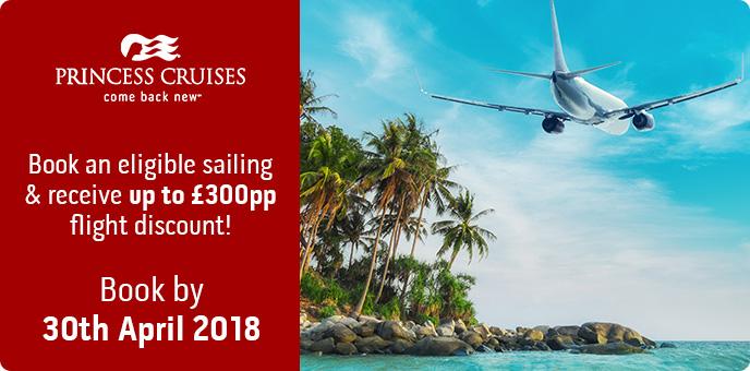Princess Cruises - Air Discount