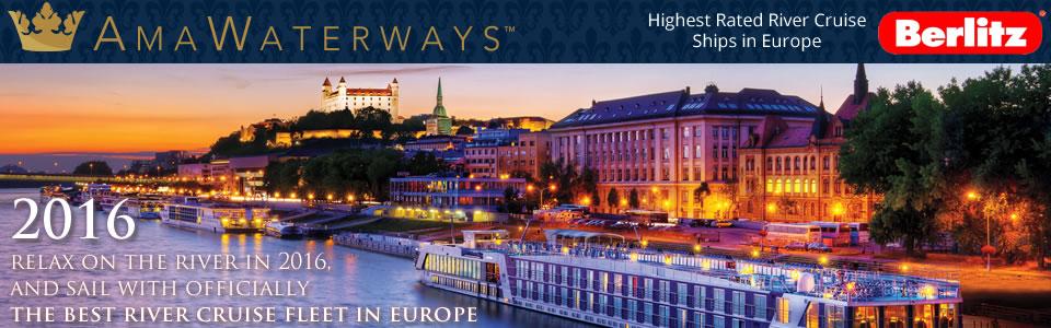 AmaWaterways 2016 River Cruises