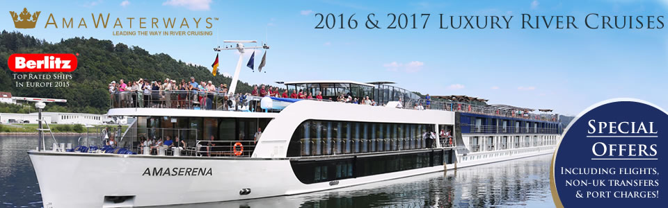 AmaWaterways from £1,599pp