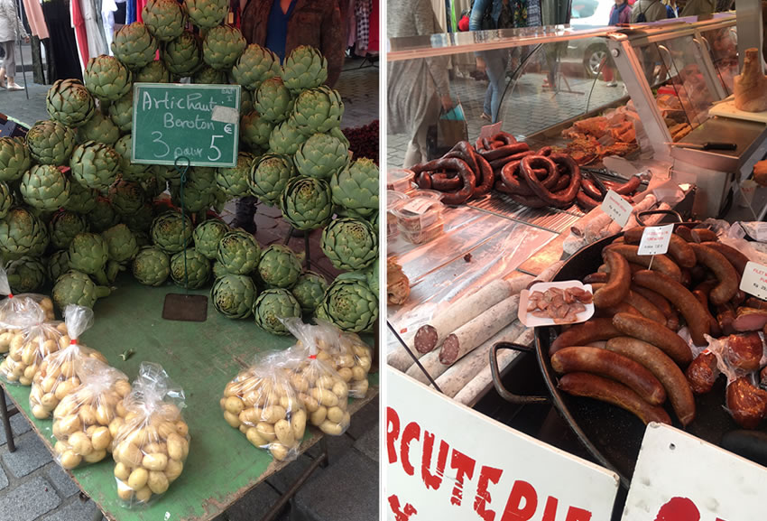 Caudebec Market