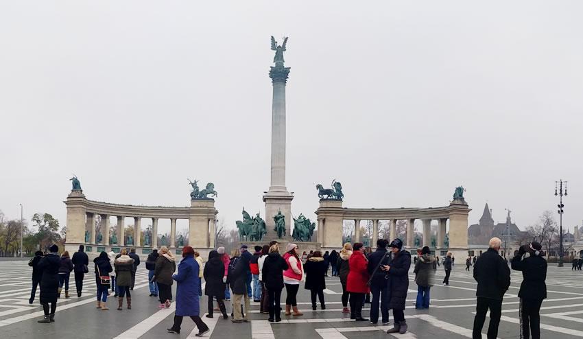 Budapest Hero Square