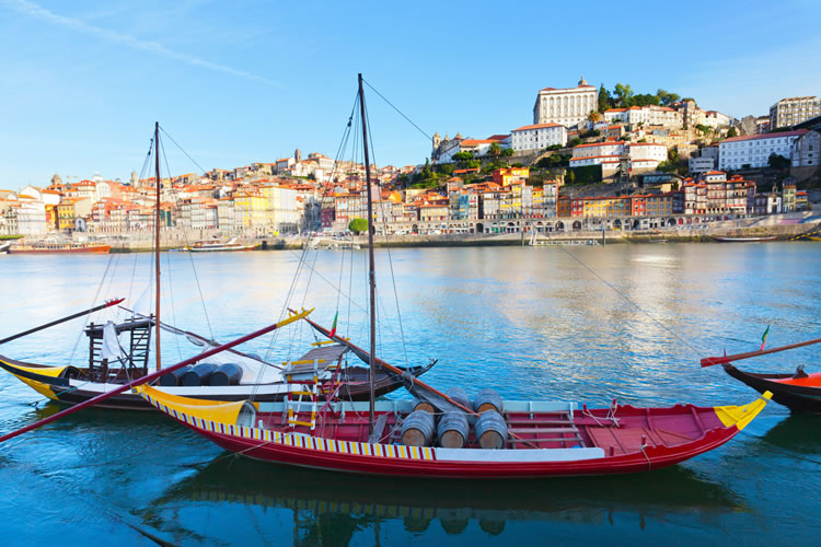 Boats on the Douro