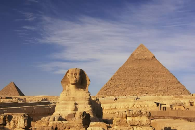 Egypt, Sphinx & pyramid