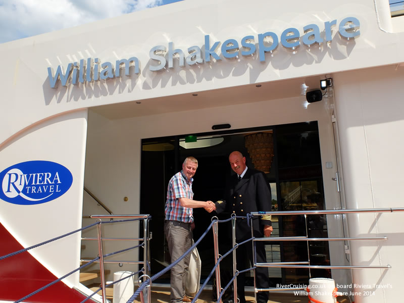 captain of the william shakespeare riviera travel