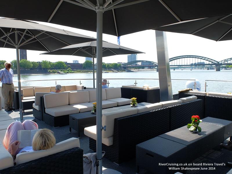 riviera travel william shakespeare sun deck